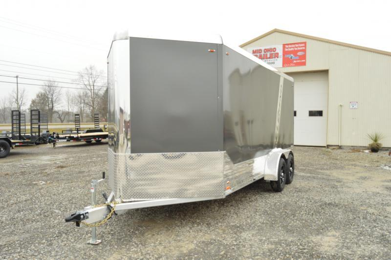 2021 Legend Manufacturing 7X19 DELUXE- Enclosed Cargo Trailer