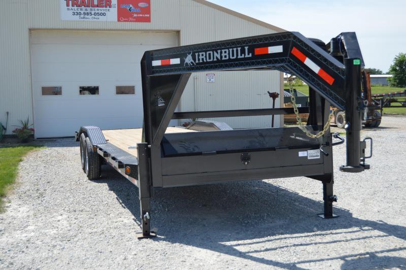 2020 Iron Bull 102X26 Gooseneck Equipment Trailer