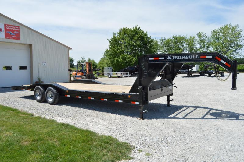 2020 Iron Bull 102X26 Gooseneck Equipment Trailer