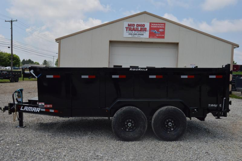 2020 Lamar Trailers 83X14 HIGH SIDE Dump Trailer
