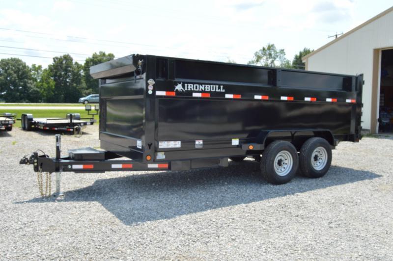 2021 Iron Bull 83X16 High Side Dump Trailer