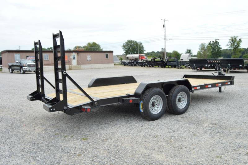 2020 Iron Bull 83X20 Equipment Trailer w/ Dove Tail