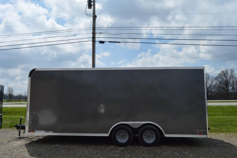 2021 Cargo Express 8.5X20 CXT EXTREME FLAT TOP-CH Enclosed Cargo Trailer