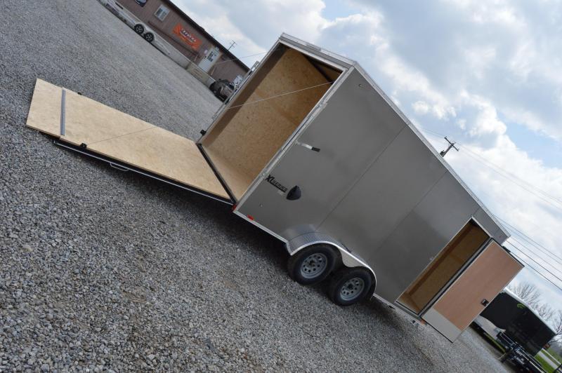 2021 Cargo Express 7X16 XLW SE FLAT TOP-P Enclosed Cargo Trailer