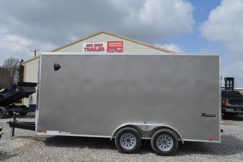 2021 Cargo Express 7X16 XLW SE FLAT TOP-P Enclosed Cargo Trailer