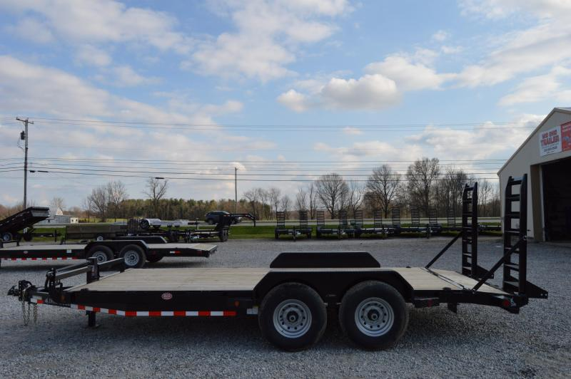 "2020 Iron Bull 83"" x 18' Equipment Trailer"
