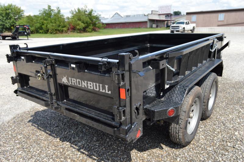 2018 Iron Bull 60X10 Dump Trailer