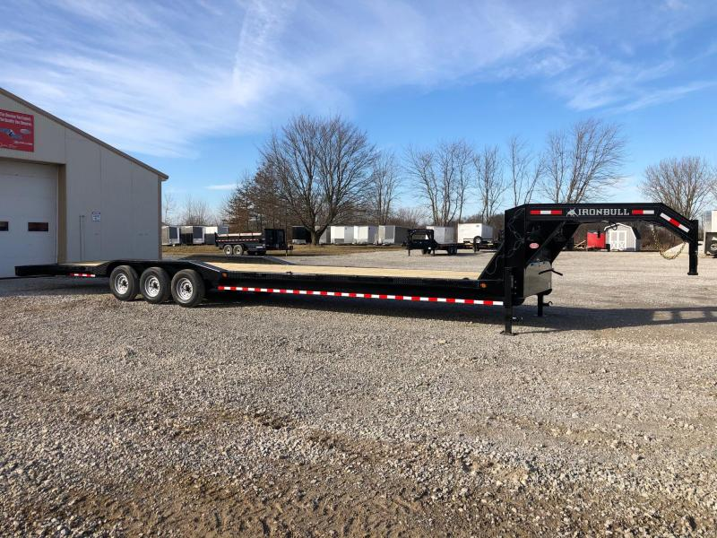 "2020 Iron Bull 102"" x 40' Gooseneck Equipment Trailer"