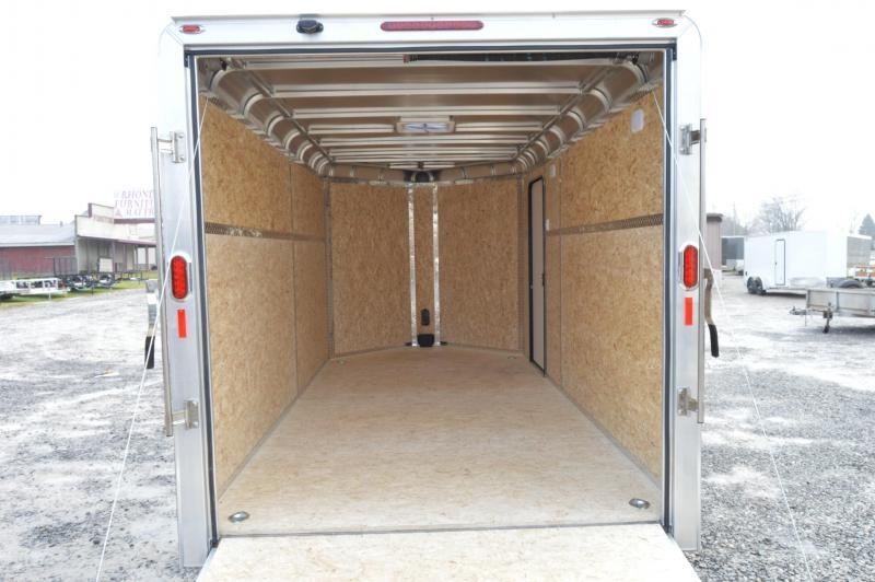 2021 Legend Manufacturing 7X17 DVN- Enclosed Cargo Trailer