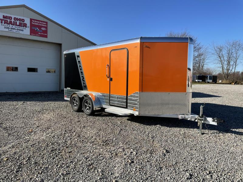 2021 Legend Manufacturing 7X17 DVN- Enclosed Cargo Trailer