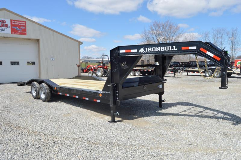 2020 Iron Bull 102x24 Goseneck Equipment Trailer