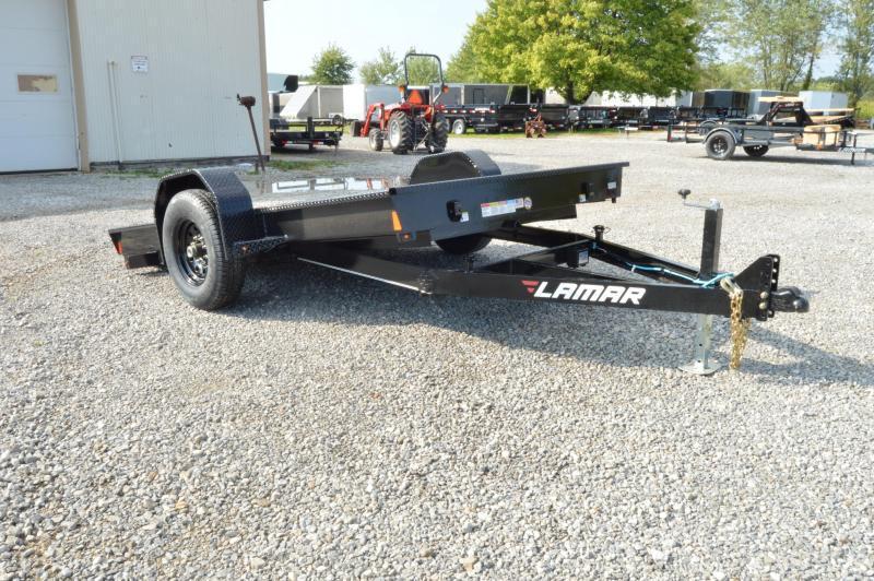 2021 Lamar Trailers 79x12 Scissor Hauler Equipment Trailer