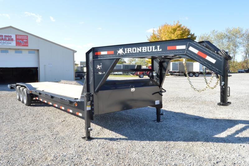 2020 Iron Bull 102x36 Gooseneck Equipment Trailer