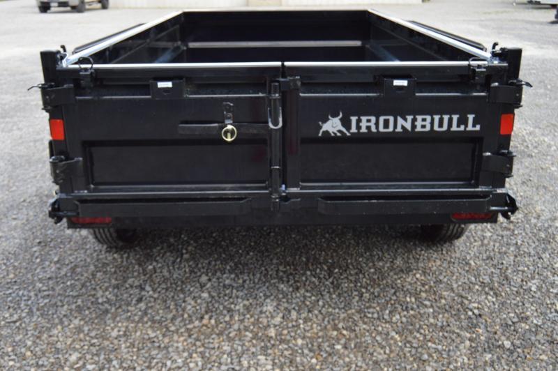 2021 Iron Bull 60X10 Dump Trailer