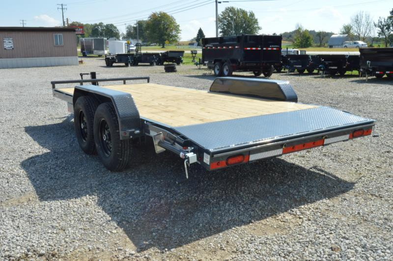 2021 Lamar Trailers 83x18 Equipment Trailer