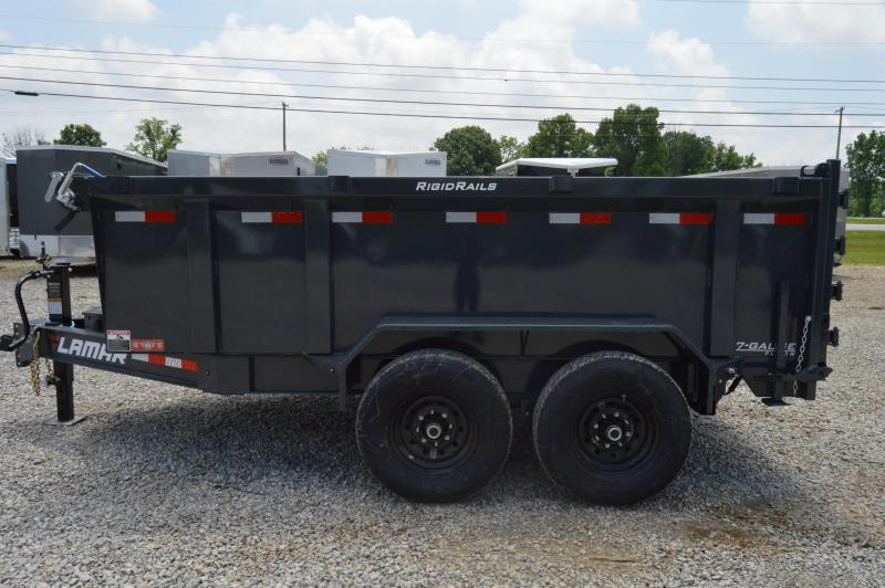 2020 Lamar Trailers 83X12 HIGH SIDE Dump Trailer