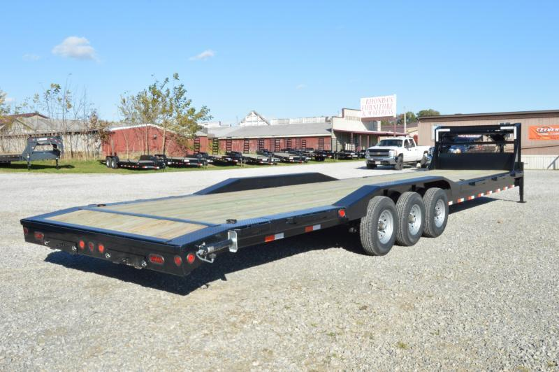 2021 Iron Bull 102x36 Gooseneck Equipment Trailer
