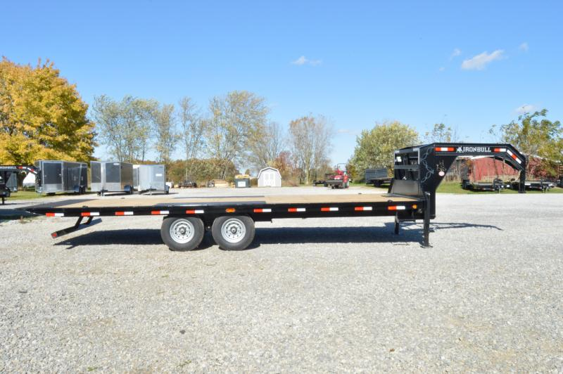 2020 Iron Bull 10X24 GN  Tilt Dck-Over Equipment Trailer