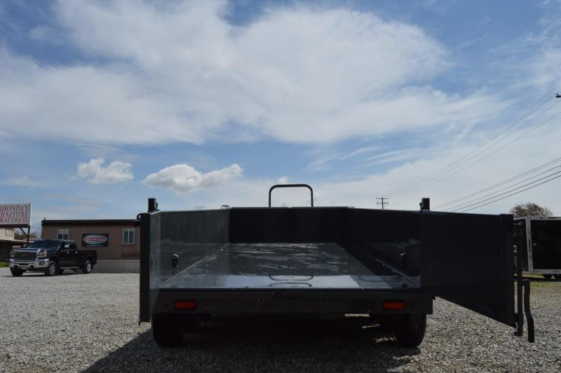 2020 Lamar Trailers 83X12 LOW-PRO DUMP Dump Trailer