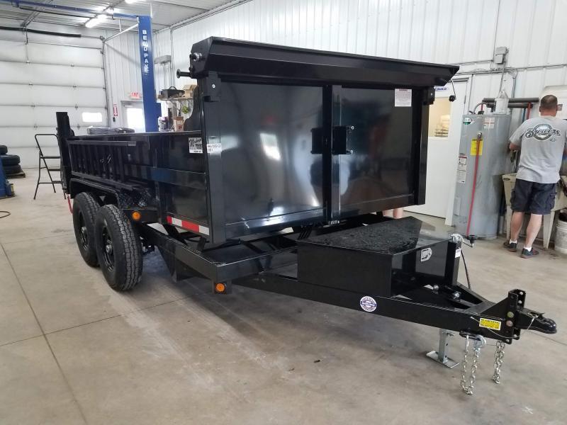 2022 Quality Steel 83x12 Dump