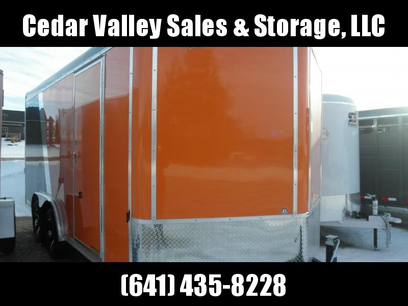 2021 H and H Trailer H9616TTV-100 Enclosed Cargo Trailer