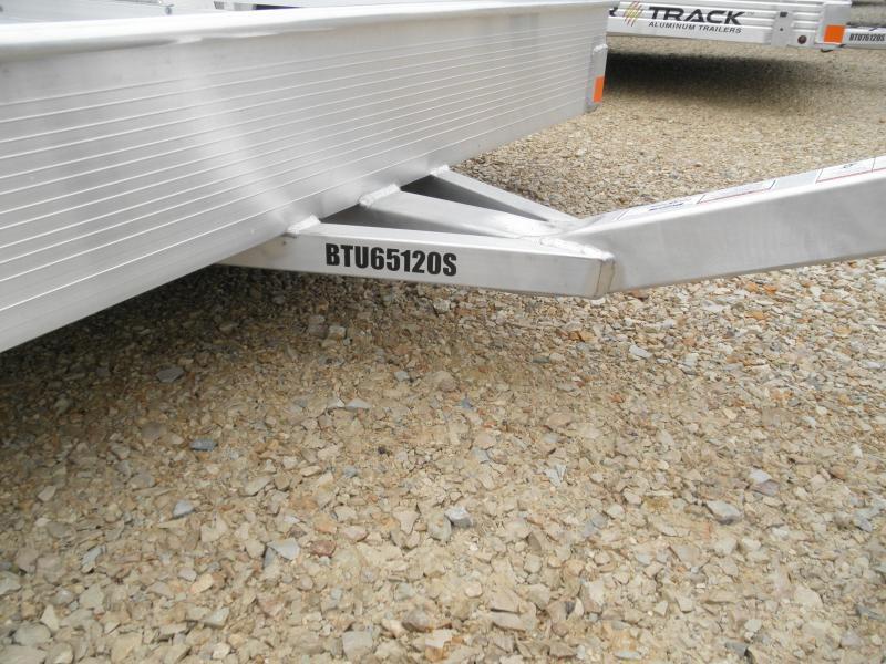 2021 Bear Track BTU65120 Utility Trailer with double rail sides
