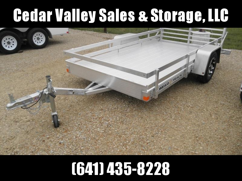 2021 Bear Track BTU65120 Utility Trailer with double rail sides