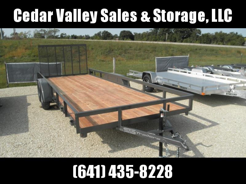 2021 S&S Manufacturing MD-2082 Utility Trailer