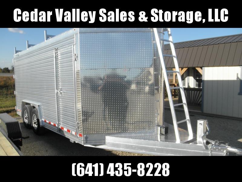 2021 Custom Classic 16 ft Enclosed Cargo Trailer  Contractors Dream