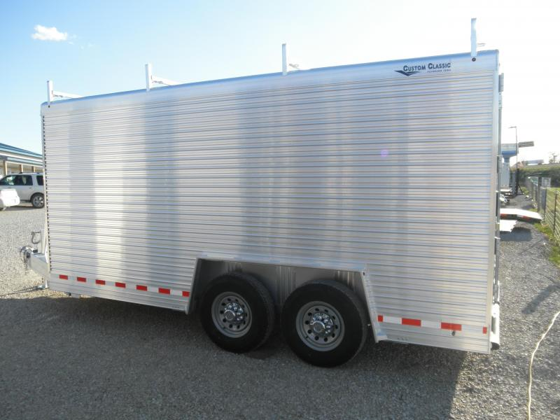 2021 Custom Classic 16 ft Enclosed Cargo Trailer  Contractors Dream