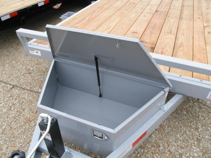 2020 H&H  20' Car hauler 10K with toolbox