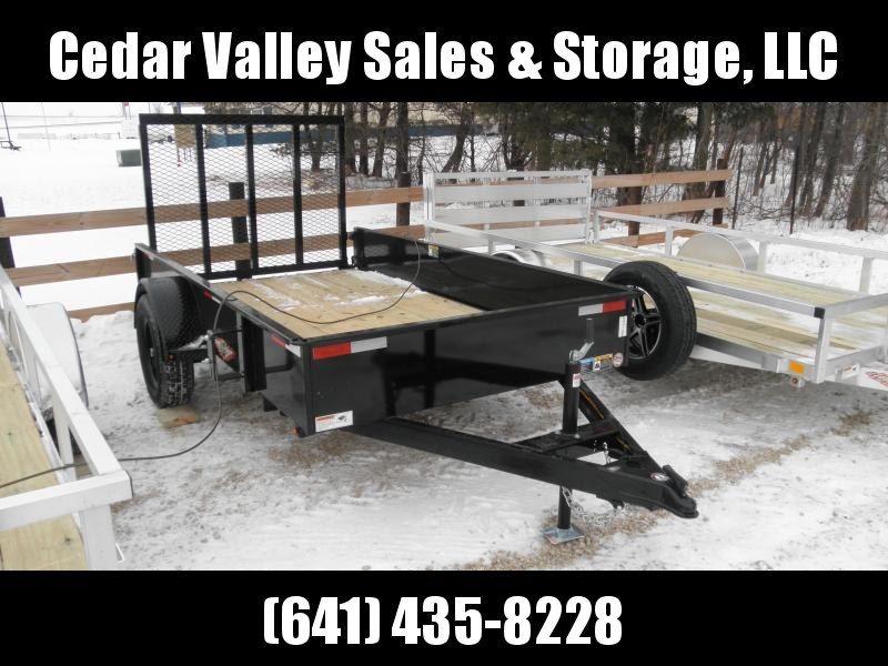 2021 H&H Trailer 66x10 Solid Side Utility Trailer (H6610SS-030)