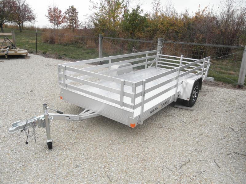 2021 Bear Track BTU65144 Utility Trailer with Side Rail Kit