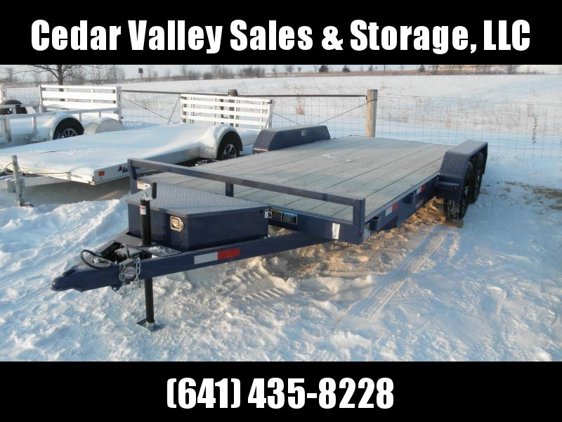 2021 H&H Trailer 82X16+2 DOVETAIL GENERAL DUTY CAR HAULER 7K