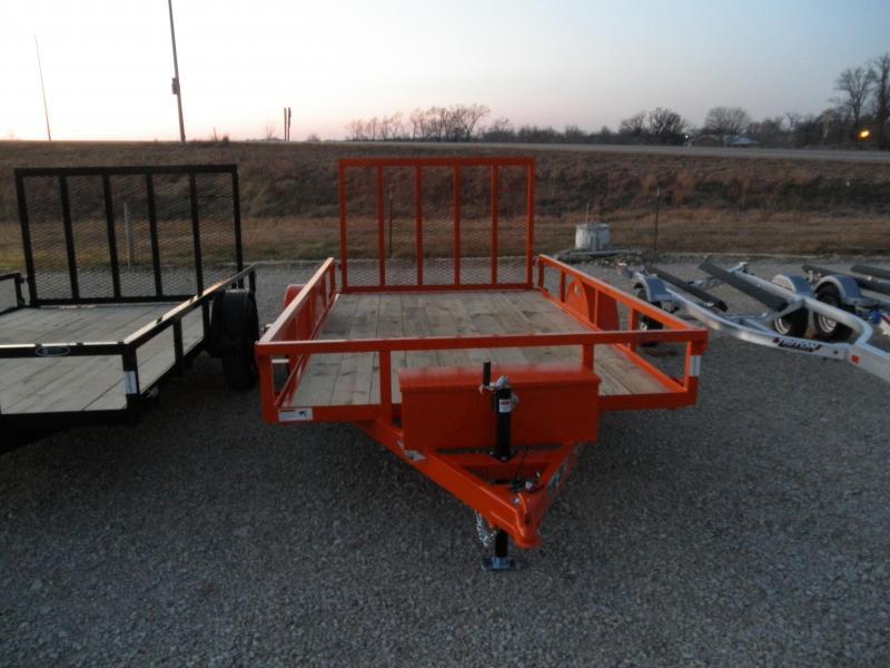 2021 H&H 76x12 Railside Utility Trailer 3.5K
