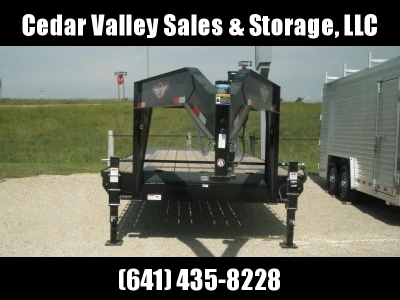 2021 H and H Trailer H20+5SDBCL-GN14-140 Equipment Trailer