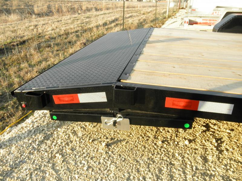 2021 H&H Trailer 20' General Duty Flatbed/Car hauler 7K  18+2' dove with Ramps