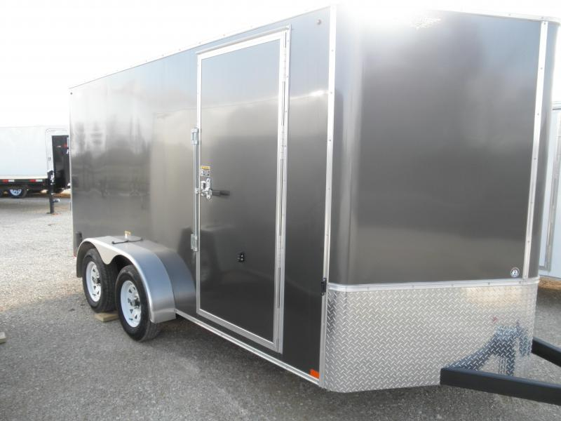 2020 H and H Trailer H8414TFTV-070 Enclosed Cargo Trailer