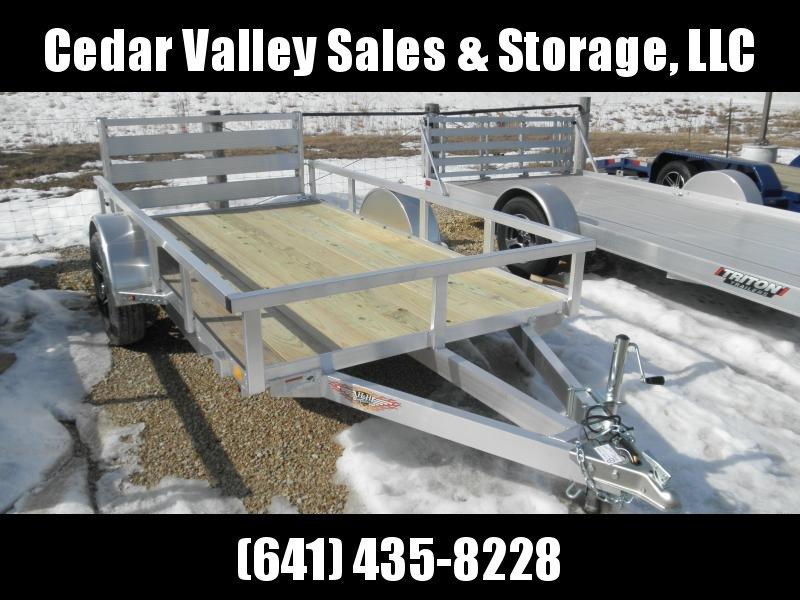 2021 H&H 66x10 Aluminum Rail Side Utility Trailer (H6610RSA-030)