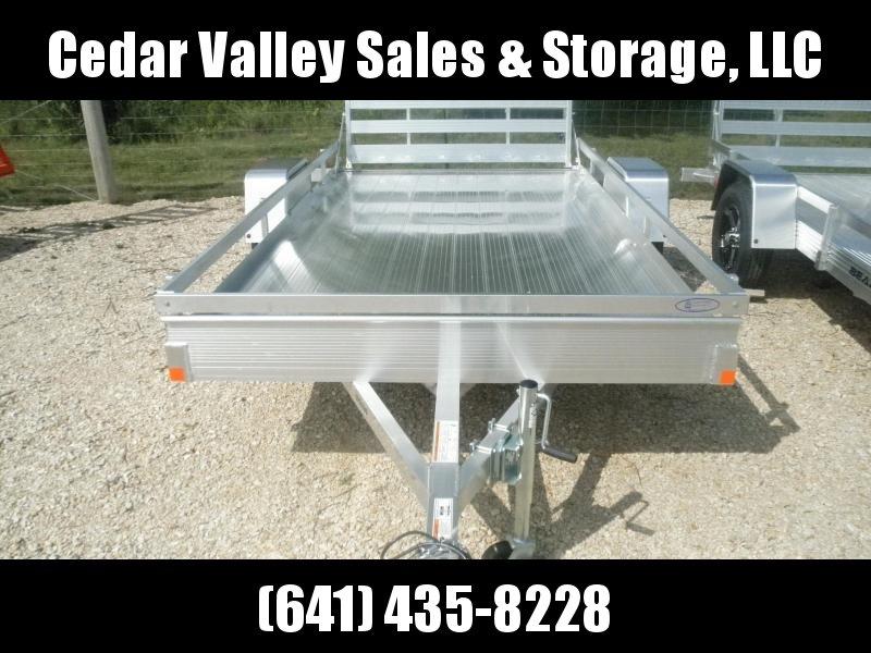 2022 Bear Track 76X144 Aluminum Utility (BTU76144F) 3.5K single rail bifold gate