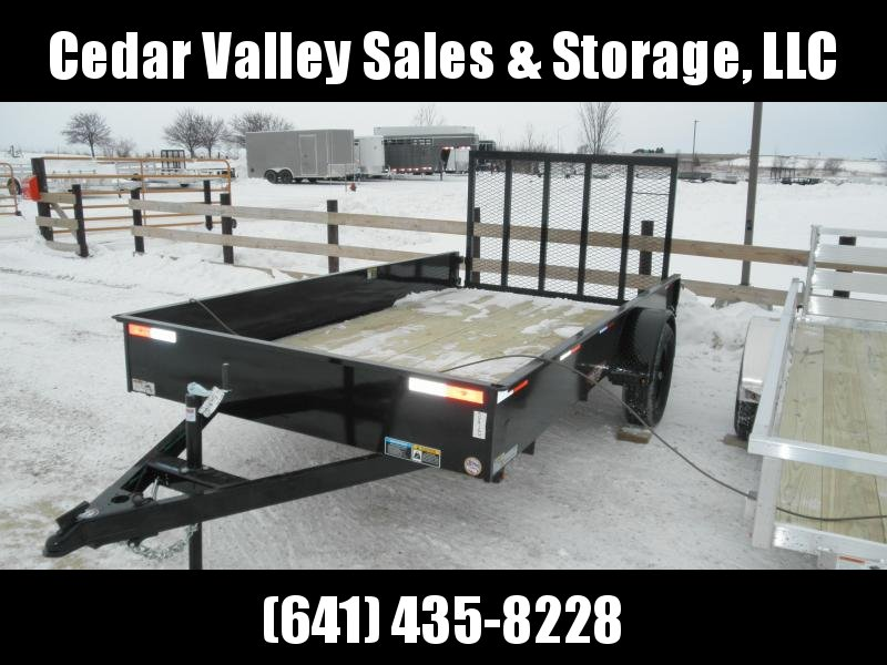 2021 H&H 76x12 Solid Side Utility Trailer (H7612SS-030)