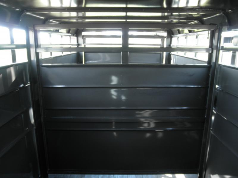 "2021 S&S Manufacturing 6'8"" X 16' Livestock Trailer 12k"