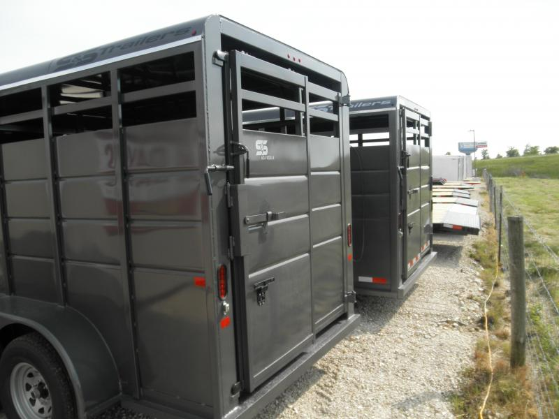 2021 S and S Manufacturing 16' Livestock Trailer