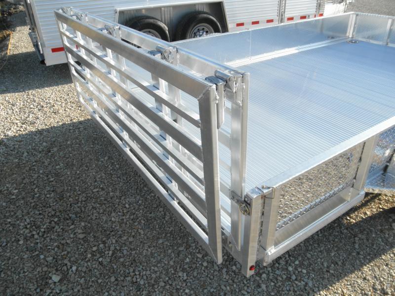 2021 Custom Classic 80x12 Aluminum Utility Trailer 3.5k