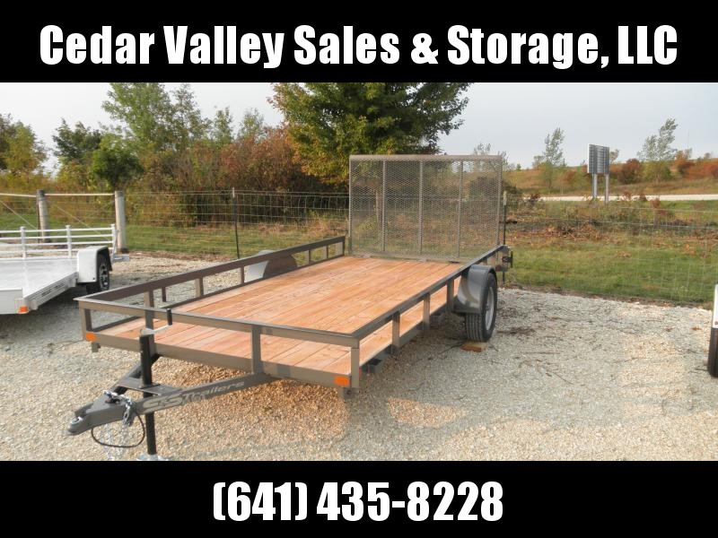 2021 S&S Manufacturing 82x14Railside Utility Trailer
