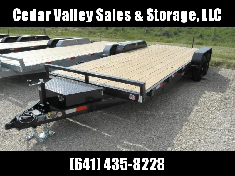 2020 H&H 18+2 Heavy Duty Flatbed Trailer 10K