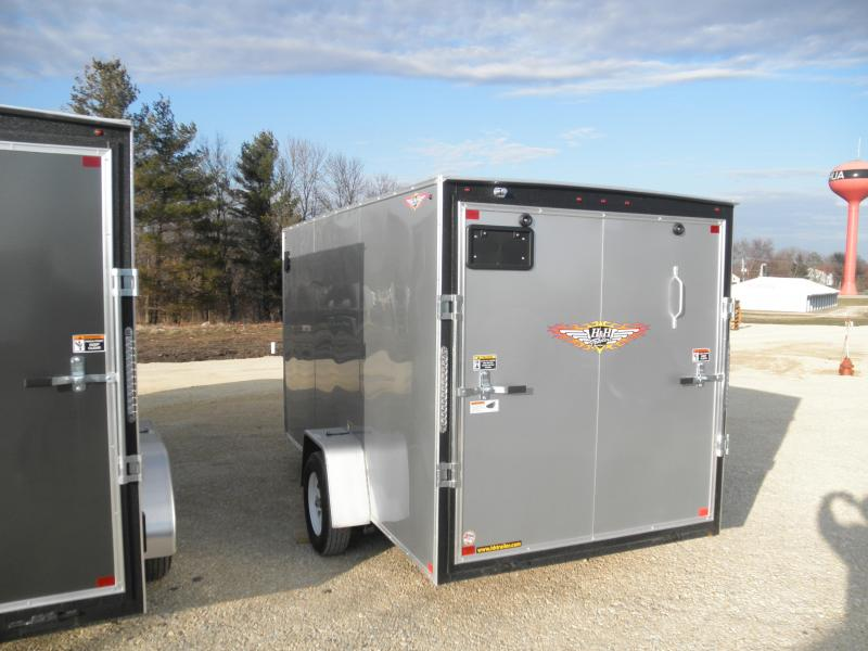 2020 H&H Trailers 6' x 12' Enclosed Cargo Trailer 3.5K
