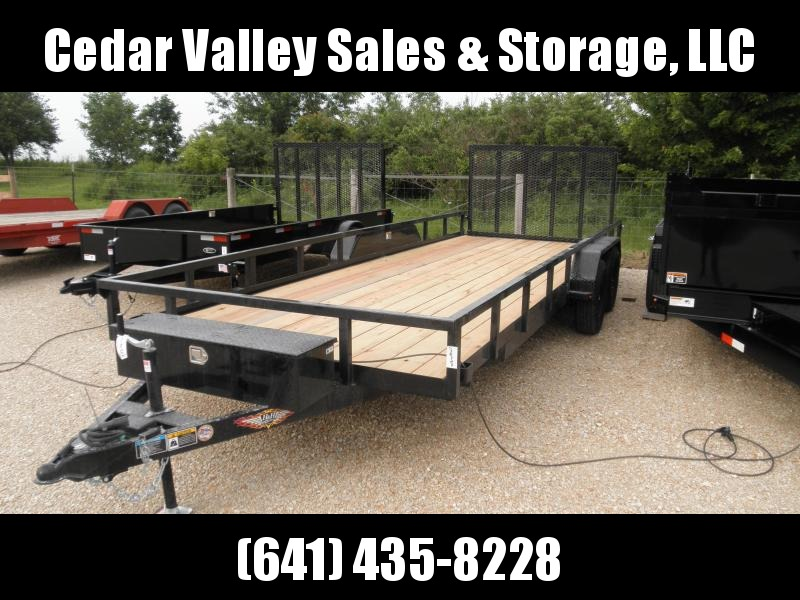 2020 H and H Trailer H8220TRS-070 Utility Trailer