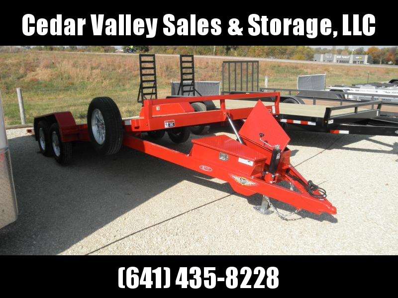 2021 H&H 20' EX Speedloader Red and Ready 7K