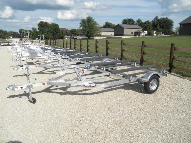 2021 Triton LTWCII-X Double Watercraft Trailer All Aluminum!